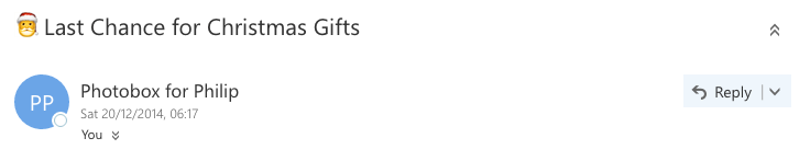 Photobox emoji in email subject line example.png