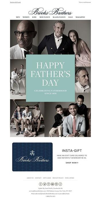 Brooks Brothers emails